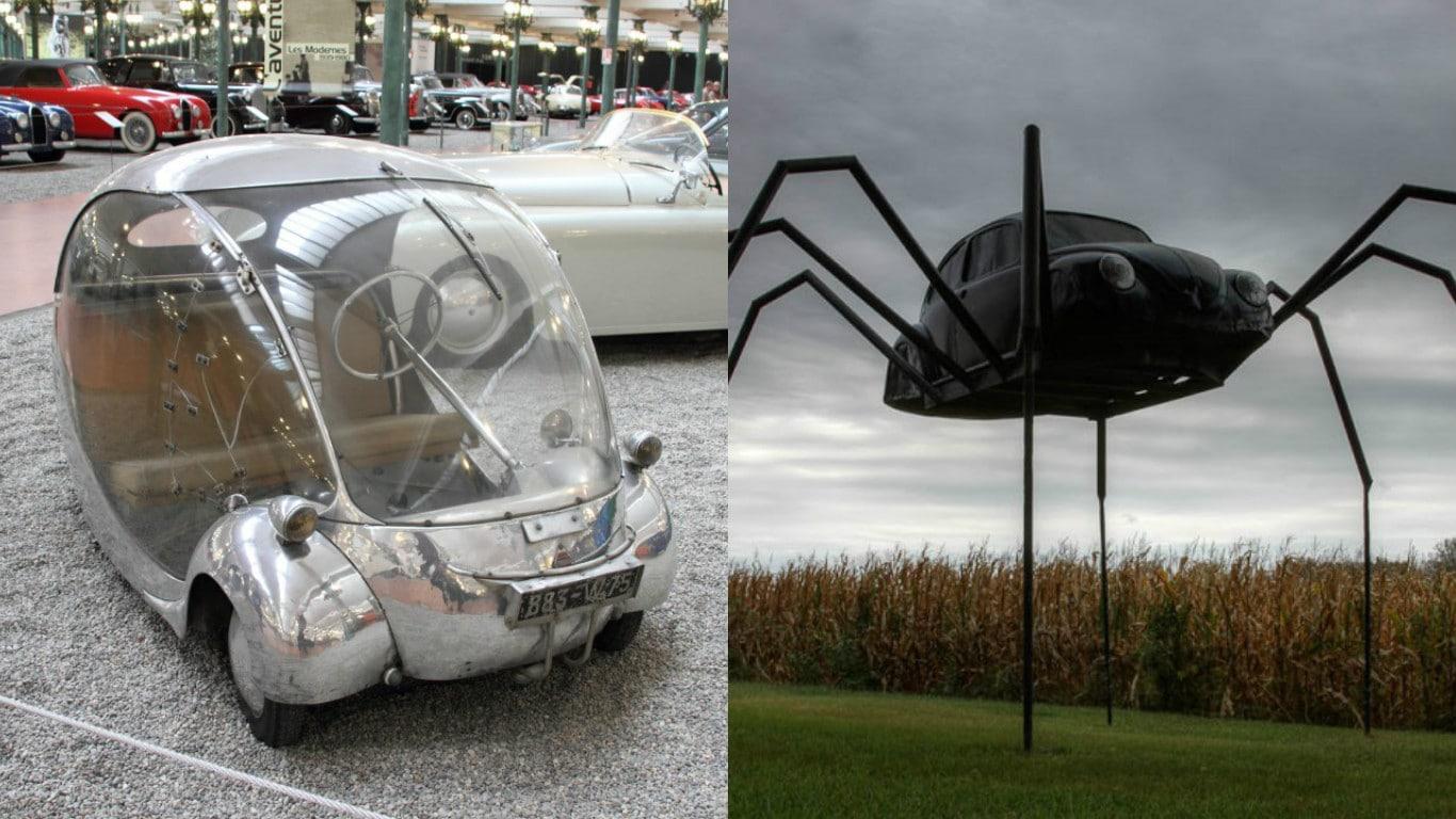 Top 10 Weirdest Cars Ever Made