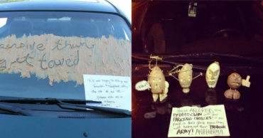 12 Furious Notes Left On Badly Parked Cars