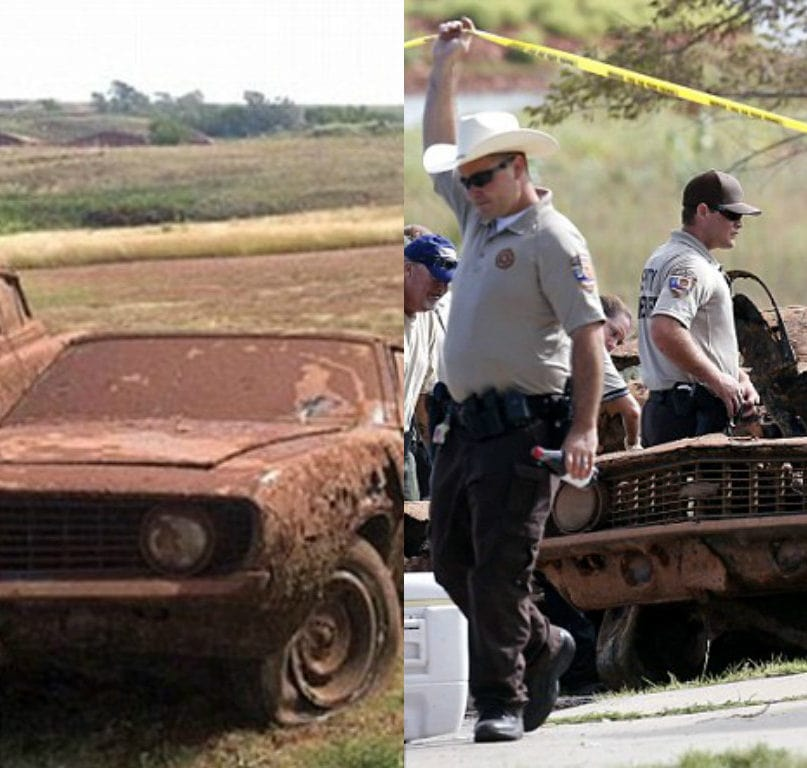 Police Make Harrowing Discovery Inside Two Classic Cars Pulled From Lake
