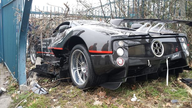 Caught on CCTV: Bodyguard Crashes Bosses £1 Million Supercar