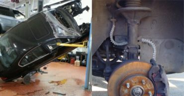 Top 10 Most Ridiculous Mechanic Garage Bodge Jobs