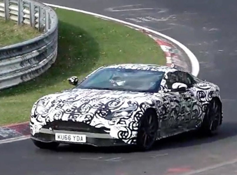 Leaked Video: 2018 Aston Martin Vantage Test Drive At Nürburgring