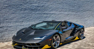 The world's first Lamborghini Centenario Roadster has been delivered in Beverly Hills, California.