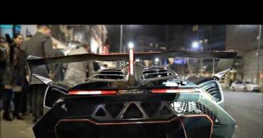 $7.6 Million Brand New Lamborghini Veneno Grasps Attention in Central London!