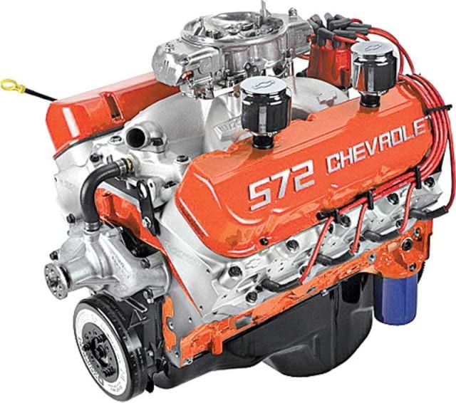 10 Most Powerful Chevy Crate Engines That GM Ever Approved