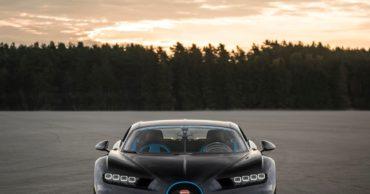 Bugatti Chiron breaks a 0-400-0 km/h world record
