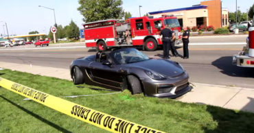 WATCH: Porsche Loses Control at Car Show & Plows Into Crowd