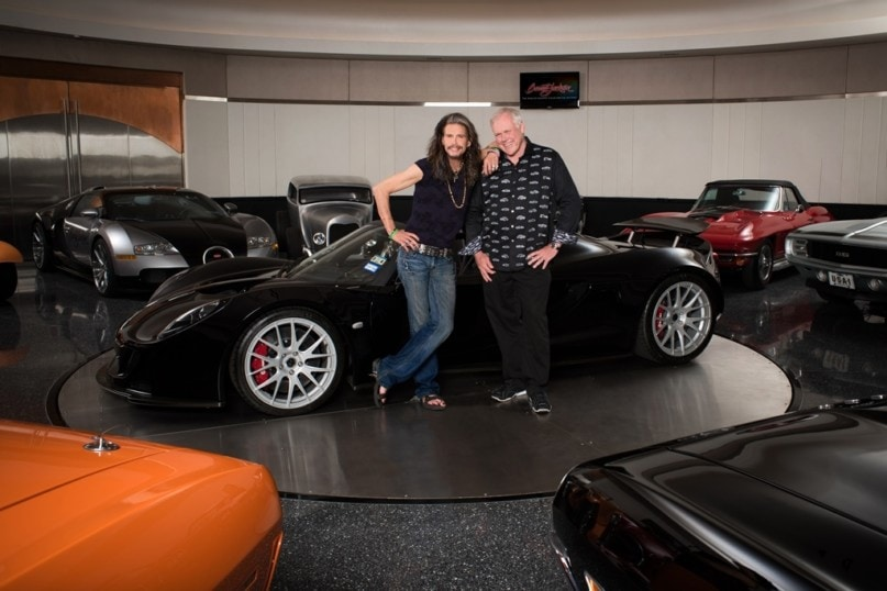 20 Rock Superstars With Unique Car Collections